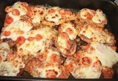 Parmezános-mozzarellás rántott csirkemell
