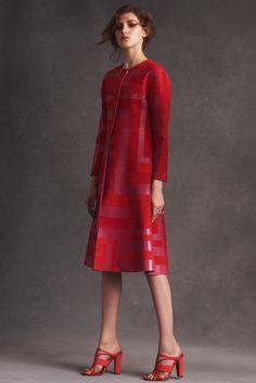 Ultra feminino!! O pré-debut de Peter Copping na Oscar de la Renta - Vogue