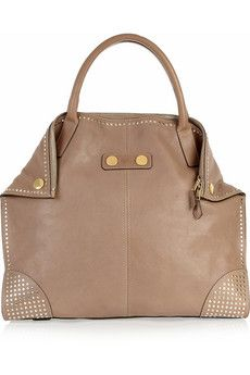 Alexander McQueen  De Manta studded leather tote
