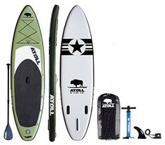 Atoll Cruise Deluxe Inflatable Stand Up Paddle Board