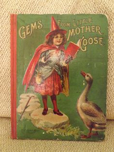 Vintage Childrens Book Gems From Little by GoldenBeeAntiques, $45.00