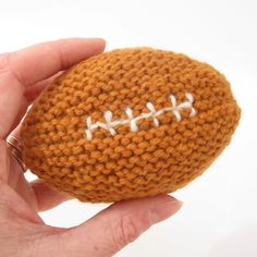 Baby's First Football  Beginner. A baby sized football for sports fan parents and their little quarterbacks.