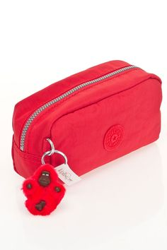 Kipling Yvonn Pouch in Cardinal - Beyond the Rack