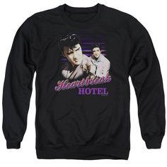 Elvis Presley: Heartbreak Hotel Crewneck Sweatshirt