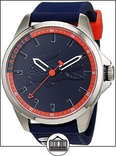 Lacoste Capbreton 2010842 - Reloj de pulsera para hombre (silicona, movimiento de cuarzo, analógico) de  ✿ Relojes para hombre - (Gama media/alta) ✿