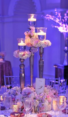Wedding Centerpiece - Lourdes Millan Productions