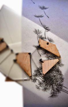Laser Cut Design Laboratory: Conceptual/wood/transparent acrylic/laser cut neck...