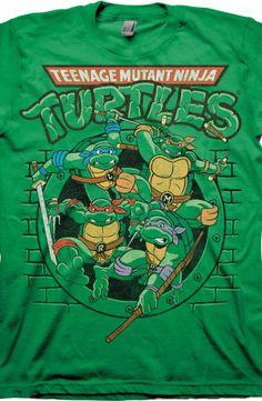 Ready For Action Ninja Turtles T-Shirt 53d50b99abb