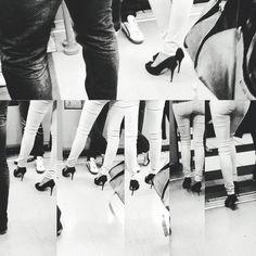 Dedicado a las amantes de los #zapatos #shoes con tacón #heels only for #woman #nosvemosenlastiendas by #simbiosc #simbiosctv