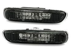 2-CLIGNOTANT-REPETITEUR-NOIR-CRYSTAL-BMW-E46-SERIE-3-PH1-320-330-d-320d-330d
