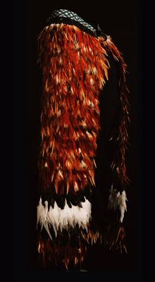Kiwi Feather Cape, Red Feather, Maori Patterns, Long White Cloud, Maori Designs, Maori Art, Indigenous Art, Traditional Dresses, New Zealand