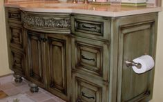 dark green glazed cabinets cabinet staining for kitchens and doors