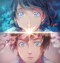 Image uploaded by Lυηηα. Find images and videos about anime, your name and kimi no na wa on We Heart It - the app to get lost in what you love. Manga Anime, Film Anime, Art Manga, Anime Art, Kimi No Na Wa, Manga Love, I Love Anime, Me Me Me Anime, Ghibli