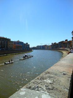 Arno River, Pisa Italy