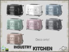 BuffSumm's Kitchen Industry Toaster 'SMEG'