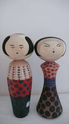 Kokeshi dolls MC & CO
