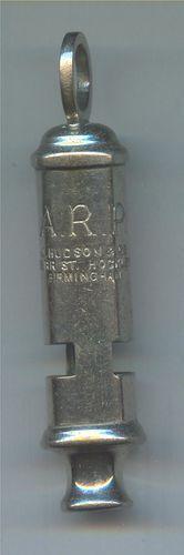 whistle Air Raid, Battle Of Britain, Whistles, World War Two, Ww2, Plating, British, Military, History