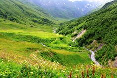 By Gia Kharatiani European Countries, Georgian, Mountains, Country, Nature, Travel, Naturaleza, Viajes, Georgian Language