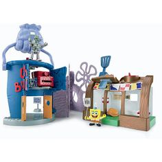 Monte wants - Fisher-Price Imaginext SpongeBob Krusty Crab Playset