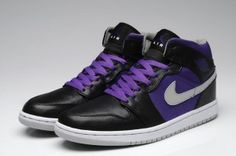 size 40 d52b8 ab7f5 Nike Air Jordan 1 Phat Mens Shoes Black   Stealth   Critical Purple   White  All kinds of Cheap Nike Shoes are provided in Nike store with superior  quality ...