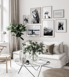 Gallery Wall Inspiration - Shop your Gallery Wall Living Dining Room, Room Decor, Living Room Decor, Bedroom Decor, Home Decor Wall Art, Gallery Wall Inspiration, Home Decor Accessories, Living Room Designs, Room