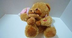 Now I Lay Me Down to Sleep Bedtime Prayer Plush Mama and Baby Bear See Video #Goffa  $20