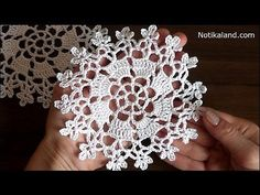 Crochet veatido juju flower motif tutorial