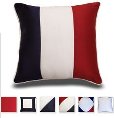 Show off your American pride with these great Americana decorative pillows from Sentiments Home. These patriotic pillows are a great way to accent any bed, couch, or chair. Add a few to your home to show off your American Pride!