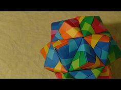 Origami Ball / Kusudama icosahedron Tomoko Fuse