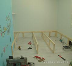 Suorat saumat: Uusi lastenhuone Toddler Bed, Furniture, Home Decor, Child Bed, Decoration Home, Room Decor, Home Furnishings, Home Interior Design, Home Decoration