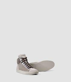 Allsaints - Rift Crescent Hi Top Sneaker (Steel Grey) - 368,00 €