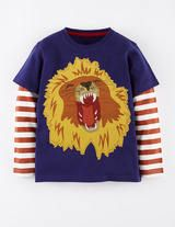 Big Creature T-shirt (French Navy Lion)