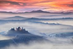 Awakening of Tuscany by Daniel Metz on 500px