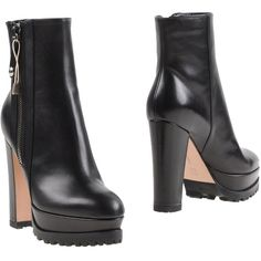 Gianvito Rossi Ankle Boots (7.685.470 IDR) ❤ liked on Polyvore