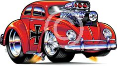 volkswagen beetle cartoon - Google Search