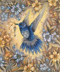 Hanna Karlzon's Summer Night (Sommarnatt) - Bird with Key