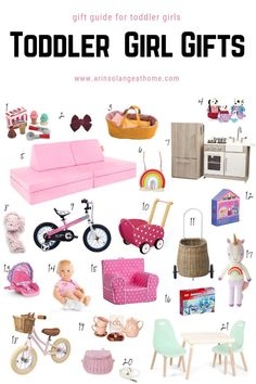 Best Toddler Girl Gift Ideas