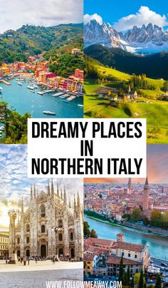 10 Stunningly Beautiful Places You Must Visit In Northern Italy : Dreamy places in Northern Italy Best Places To Travel, Cool Places To Visit, Vacation Places, Vacation Food, Vacation Quotes, Vacation Packing, Vacation Style, Vacation Packages, Travel Packing