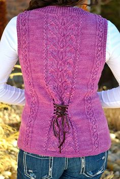 Ravelry: Time Traveler Vest pattern by Therese Chynoweth