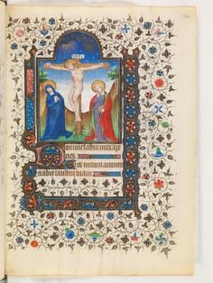 Portrayal of the Crucifixion of Christ in a 15th century manuscript by Virtual Manuscript Library of Switzerland http://flic.kr/p/e6imtJ