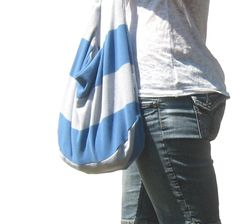 Hobo Bag Slouch Bag Sling Purse Casual by SmiLeaGainCreations, $32.00