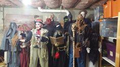 Wicked Bones Halloween family! Horror Room, Diy Haunted House Props, Set Design, Bones, Wicked, Halloween, Stage Design, Stage Equipment, Design Set