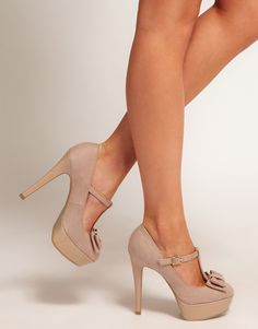 MaryJane Platform Shoes...I would take these in any color.