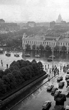 """Пушкинская площадь"" Фото 1950-х гг."