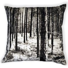 Forest cushion by Nicolette Brunklaus