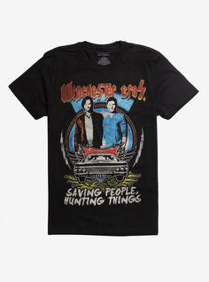 Metal Tour T-Shirt Cartoon T Shirts, Movie T Shirts, Supernatural Pop, Vintage Rock Tees, Grunge, Casual Cosplay, Tour T Shirts, Winchester, Tours