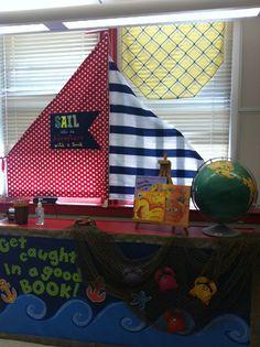 Appliqued flag. Emiley's 3rd grade classroom rocks!
