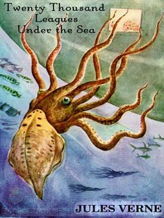 Twenty Thousand Leagues Under the Sea by Jules Verne. Captain Nemo, The Nautilus, and the mysterious depths of the ocean. Unforgettable. Come join an adventure that will roam among coral and pearls, sharks and giant squid, with wonders of biology and engineering that will thrust us from the Antarctic to Atlantis.