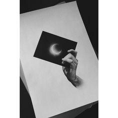 #eclipse #black #film #hand #tattoo #flash #dotwork #blackandwhite #Warsaw #vsco #vscocam #blackworkers #tattrx #onlyblackart #blacktattooart