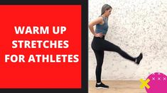 Warmup Stretches For Athletes or Runner in 1 Minute | Watch and Share